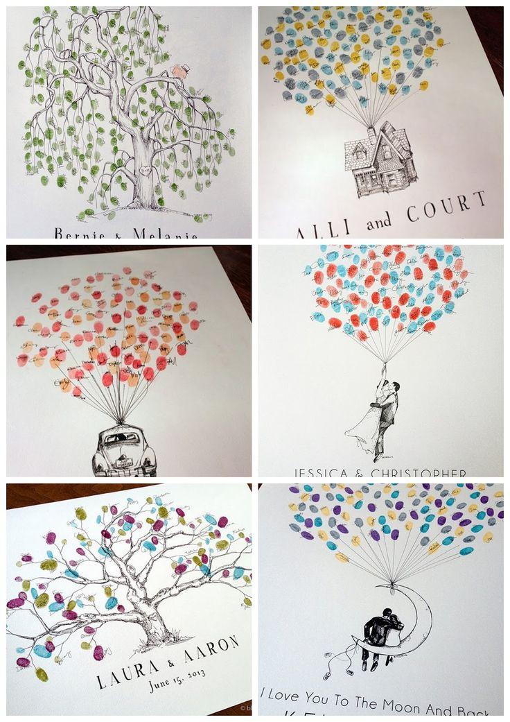 Around the wedding: 5 bonnes idées pour... # votre livre d'or