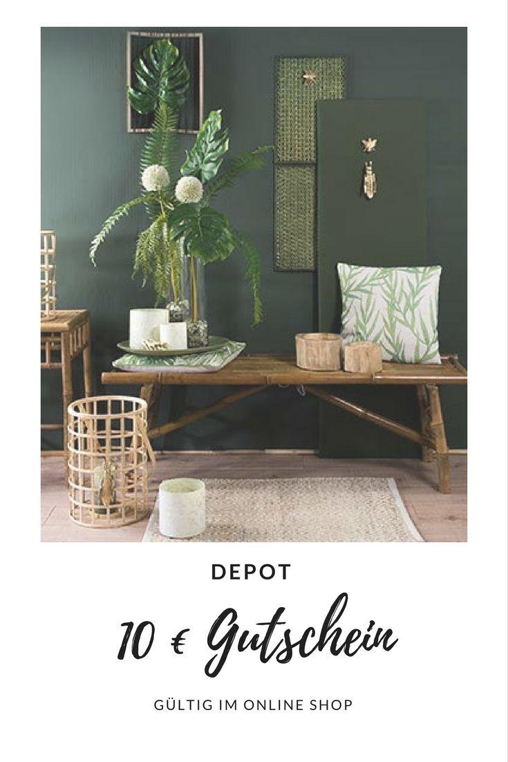 10 € Gutschein für DEPOT Online shop. Rabatt für Dekoartikel & Einrichtungsgegenstände ab 80€ Mindestbestellwert