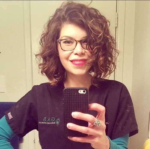 20 Curly Short Hair Pics for Pretty Ladies - Love this Hair