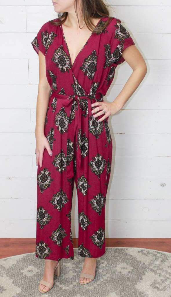 The Olivia Jumpsuit The Loocke Party Time Jump Suit Magenta