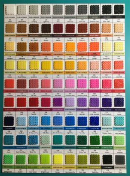 Artkal Mini Fuse Beads Color Chart By Jankov
