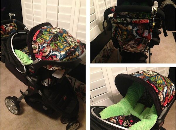What do you mean this awesome horror-themed stroller isn't a valid enough reason to have a baby?