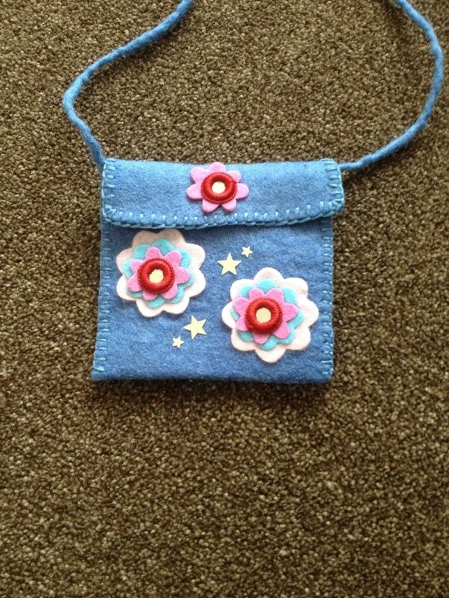 Childrens felt handbag (062)