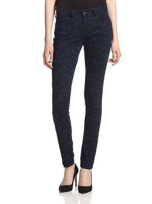 45% OFF Mavi Women's Alexa Skinny Jean (Navy Paisley Flock)