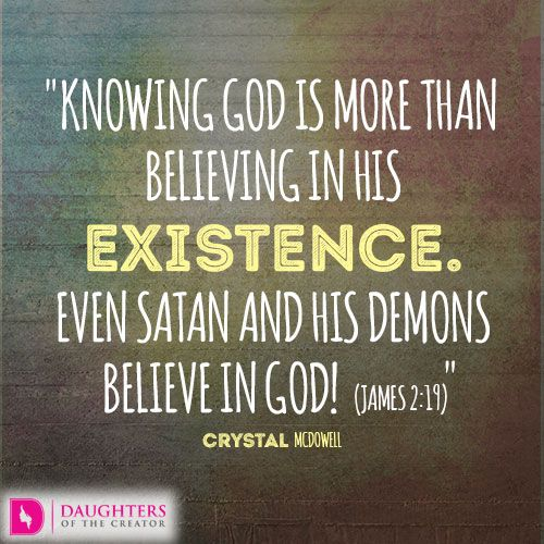 Image result for i know about God know God
