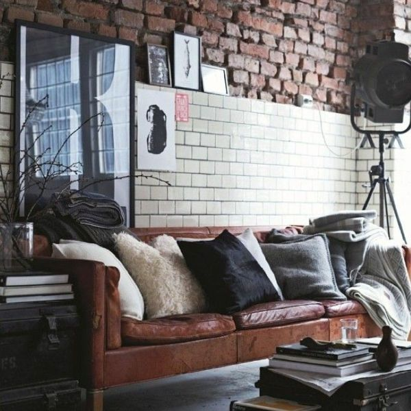 32 best Teally images on Pinterest Home ideas, Arquitetura and - industrial chic wohnzimmer