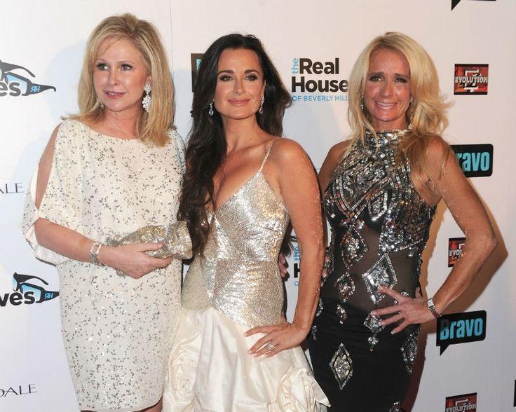 Kathy Hilton, Kylie Richards & Kim Richards
