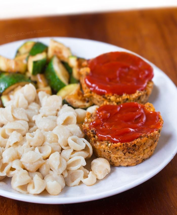 These vegan mini meatloaf cups–low in calories and made with wholesome ingredients–are a delicious addition to any weeknight OR fancy holiday meal. They're the perfect meatless option—with no tofu o