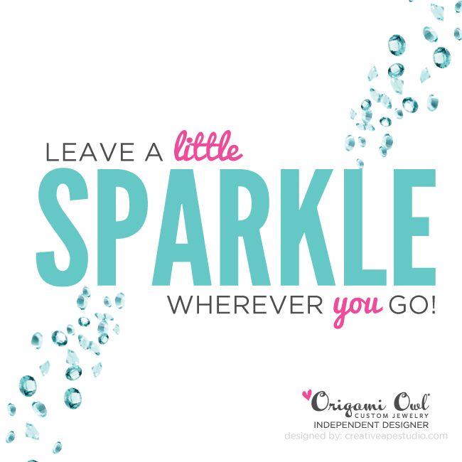 Little Sparkle - Origami Owl® Social Media Graphic https://lucretia.origamiowl.com