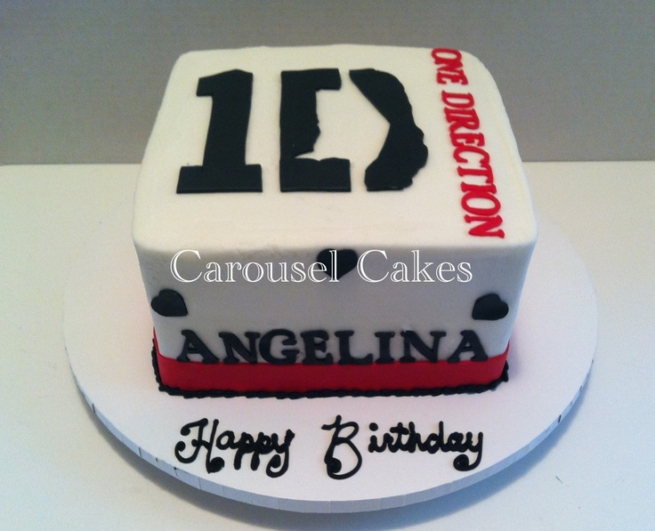 Pictures Of One Direction Birthday Cakes