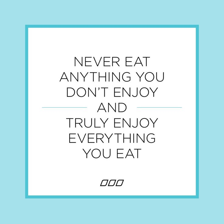 Never eat anything you don't enjoy and truly enjoy everything you eat! #lornajanespringclean