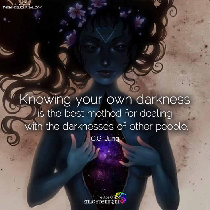 Knowing Your Own Darkness - https://themindsjournal.com/knowing-your-own-darkness/