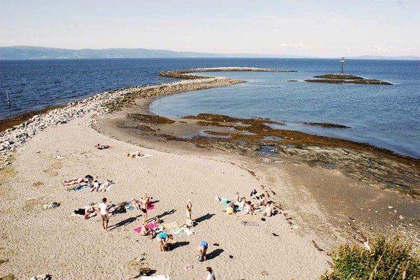Met een lengte van 130 kilometer is dit de op twee na langste van Noorwegen. Dit deel is vooral beroemd vanwege de diverse rivieren die in de Trondheimfjord uitmonden. Waarin, volgens kenners, de beste zalmen uit Noorwegen zwemmen. Enkele rivieren zijn de Gaula (in Melhus, ten zuiden van Trondheim), Stjørdalselva (in Stjørdal), Orkla (in Orkdal) en Verdalselva (in Verdal). Aan het einde van dit fjord liggen talloze eilandjes. In 2000 ontdekten wetenschappers hier grote koudwaterkoraalriffen.