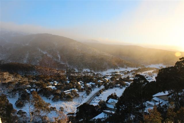 Thredbo Resort in New South Wales #snowaus