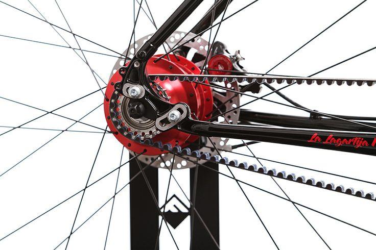 "Festka 29"" Rohloff Lizzard #cycling #customframe #handbuild #3T #festka #cyklistika #columbus #MTB #singlespeed #gates #tune #chrisking"