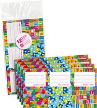 Set 12 adhesivos AGATHA RUIZ DE LA PRADA | Etiquetas, pegatinas, adhesivos, etiquetas autoadhesivas, etiquetas diseño, pegatinas de diseño, | Agendas, libretas, cuadernos, carpetas, mochilas, estuches, bolsas, libreta, cuaderno, material escolar, mochila | Miquelrius-Papelería y complementos escolares
