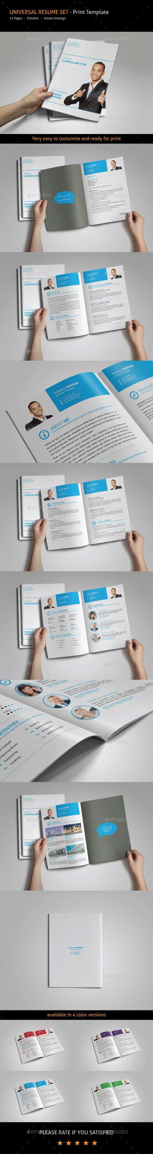 958 best simple resume template images on pinterest resume universal resume template yelopaper Choice Image