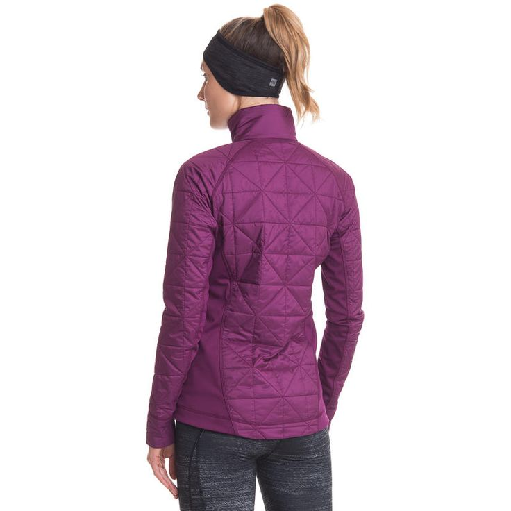 Manteau hybride Waxwing: N'ayez pas peur de suer par temps froid grâce à un mélange parfait de respirabilité, de ventilation et d'évacuation de l'humidité. Avec ses panneaux latéraux et ses manch