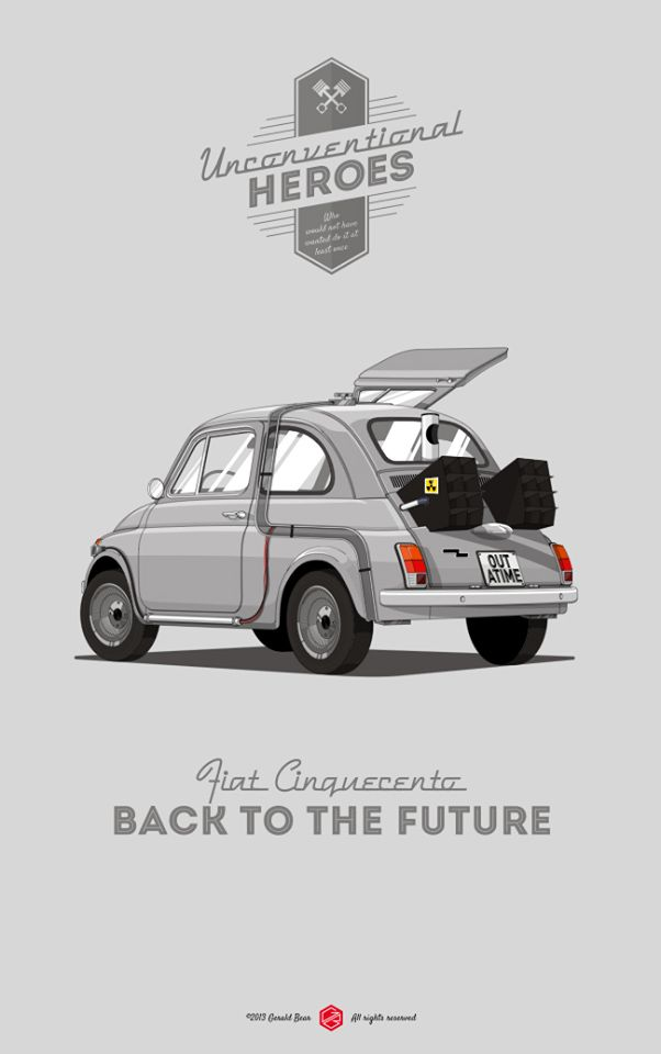 Fiat 500 - UNCONVENTIONAL HEROES