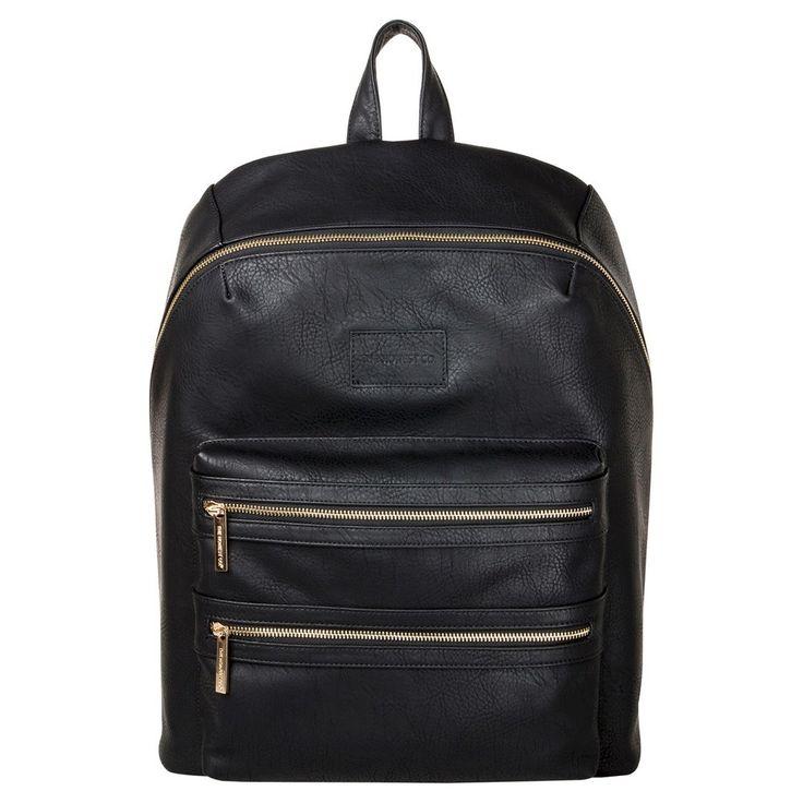 Honest Company Diaper Bag City Backpack Black