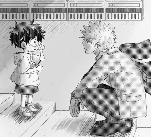 Bakugou X Reader Childhood