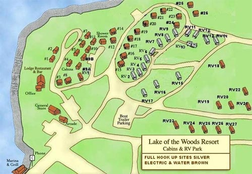 Lake Of The Woods Oregon Lake Of The Woods Resort Welcome To - Map of oregon rv parks