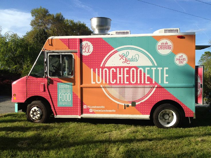 lindas luncheonette // comfort food truck http://www.food-trucks-for-sale.com