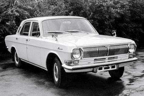 "ГАЗ-24 ""Волга"" '11.1967–03.1968"