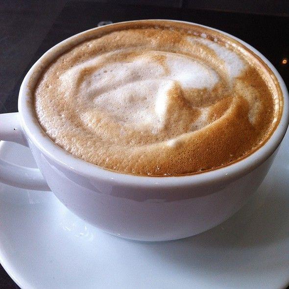 Almond milk latte - my favourite!