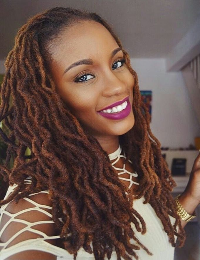 The 25+ best Loc hairstyles ideas on Pinterest Locs - Dread Hairstyles