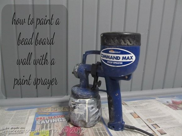 life how to paint a beadboard wall with a paint sprayer your best