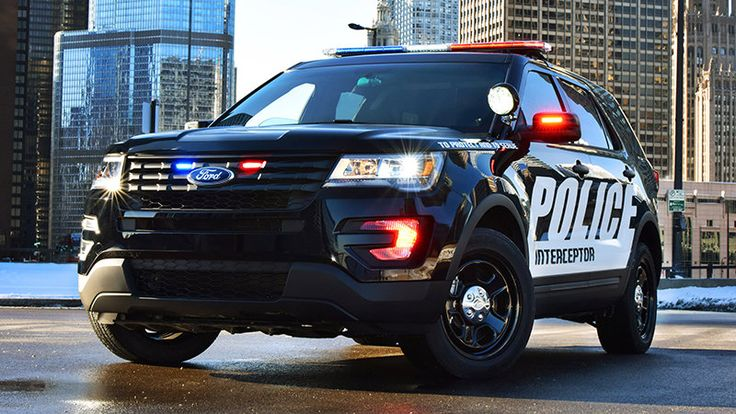 2016 Ford Police Interceptor Utility is ready to tackle
