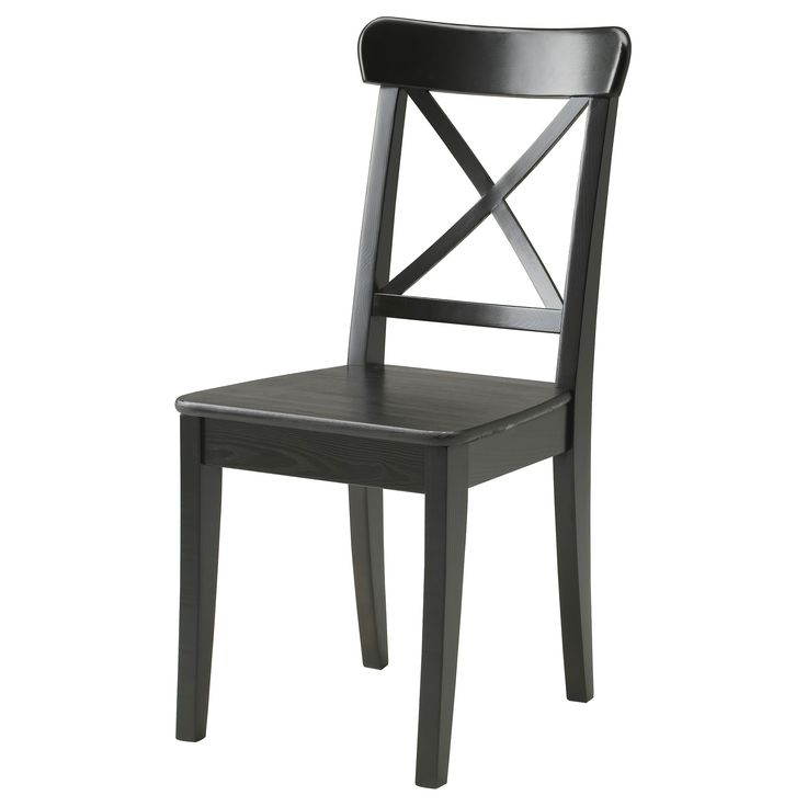 INGOLF Chair - brown-black - IKEA £35
