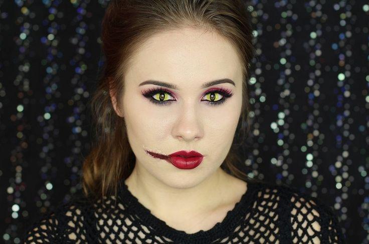 Makijaż na Halloween krok po kroku