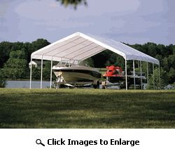Shelter Logic 18 x 30 Commercial Canopy Tent Ultra Wide Series