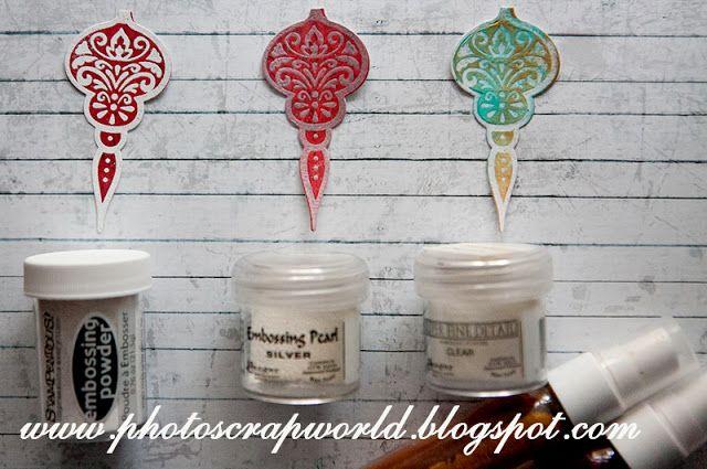 Blog Craft Passion: Świąteczne stemplowanie - kurs / Christmas stamping