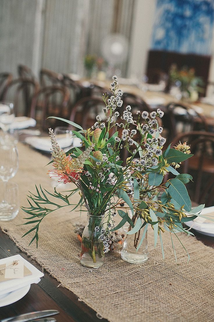 Delphine Manivet for a beautiful and rustic outdoor wedding in Australia. Photography by Maureen du Preez.