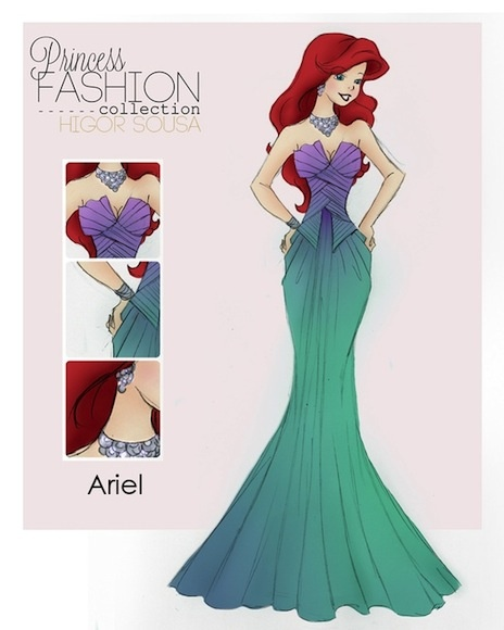 Holly Madison - Princess Post: Fairytale Fashion