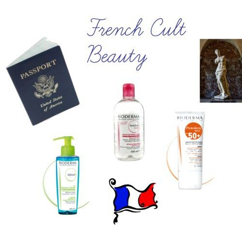 French Cult beauty with Bioderma.