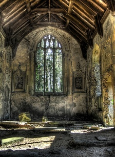I think places like this are beautiful and have stories to tell. <3