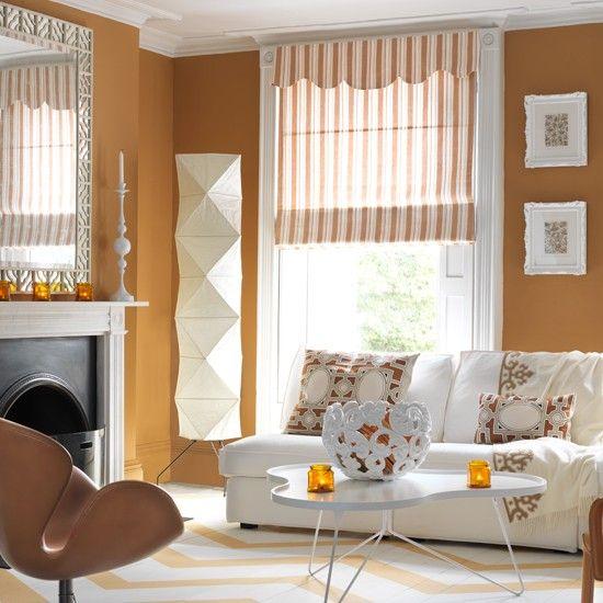 Die besten 25+ Orange wohnzimmerfarbe Ideen auf Pinterest - wohnzimmer orange grau