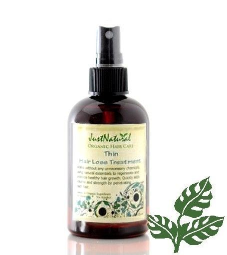 Natural Thin Hair Treatment Solution Stops Thinning Hair Damage