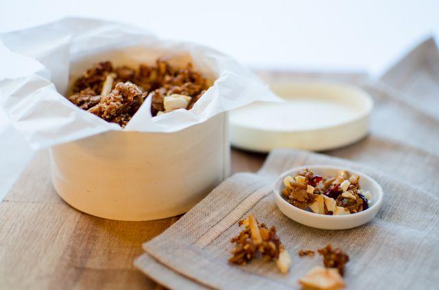 Apple Cinnamon Granola | Essen | Pinterest