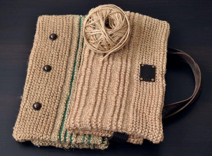 tru-knitting: Вязание из нетрадиционных материалов. Хозяйственны...