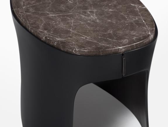 CASTE Design For HOLLY HUNT, Bitterroot Side Table