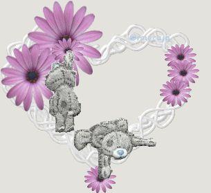 Paarse harten valentijn plaatjes, valentijnanimaties en krabbelplaatjes