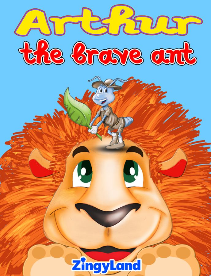 Arthur the brave Ant