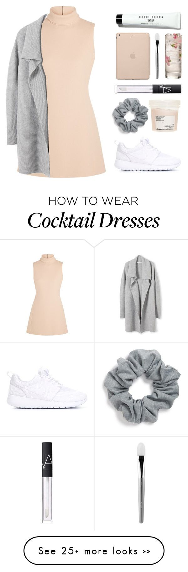 """ready"" by x-v-i-i-i on Polyvore featuring Calvin Klein Collection, Natasha Couture, NIKE, Davines, NARS Cosmetics, Black Apple, esum and Bobbi Brown Cosmetics"
