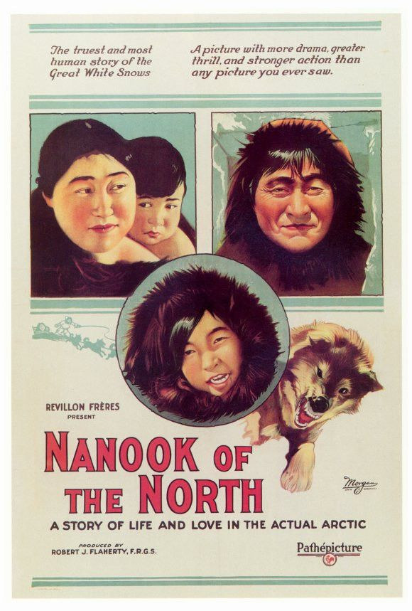 "CAST: Nanook; DIRECTED BY: Robert J. Flaherty; PRODUCER: Robert J. Flaherty; Features: - 27"" x 40"" - Packaged with care - ships in sturdy reinforced packing material - Made in the USA SHIPS IN 1-3 DAY"