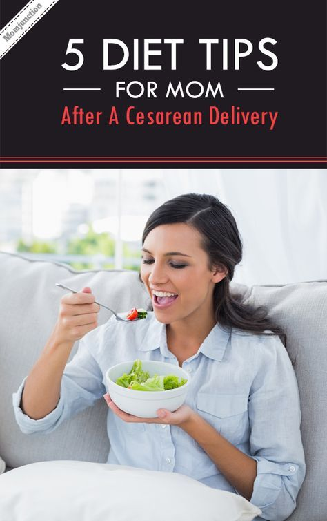 diet after c section to lose weight